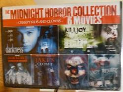 Midnight Horror Collection: Creepy Kids and Clowns - 6 Movies DVD Cover Art