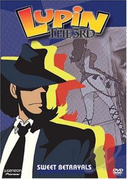 Lupin The 3rd - Vol. 8: Sweet Betrayals DVD Cover Art