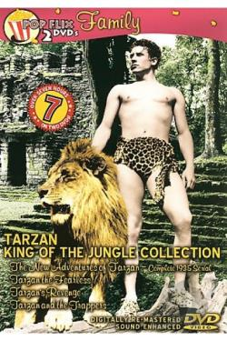 Tarzan King of the Jungle Collection DVD Cover Art