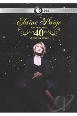 Elaine Paige: Celebrating 40 Years on Stage DVD Cover Art