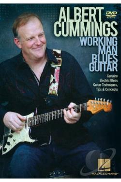 Albert Cummings: Working Man Blues Guitar DVD Cover Art