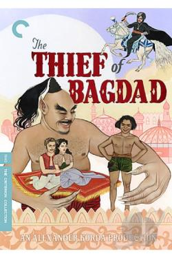 Thief of Bagdad DVD Cover Art