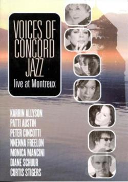 Voices of Concord Jazz - Live at Montreux DVD Cover Art