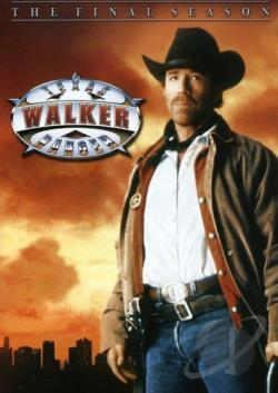 Walker Texas Ranger - The Final Season DVD Cover Art