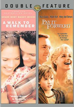 Walk To Remember & Pay It Forward DVD Cover Art