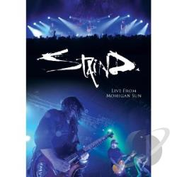 Staind: Live from Mohegan Sun DVD Cover Art