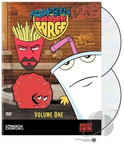 Aqua Teen Hunger Force - Volume 1 DVD Cover Art