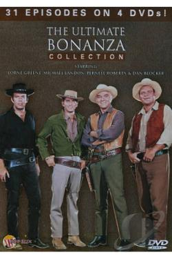 Ultimate Bonanza Collection DVD Cover Art