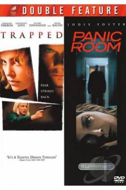 Trapped/Panic Room DVD Cover Art