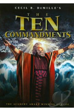 Ten Commandments DVD Cover