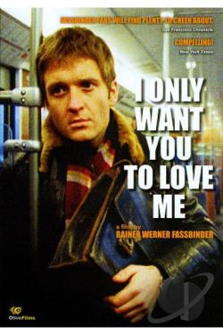 I Only Want You to Love Me DVD Cover Art