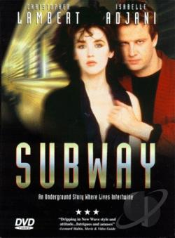 Subway DVD Cover Art