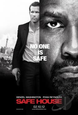 Safe House DVD Cover Art