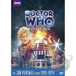 Doctor Who - Death to the Daleks DVD Cover Art
