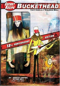Buckethead - Secret Recipe DVD Cover Art