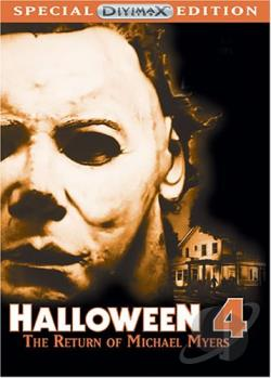 Halloween 4: The Return of Michael Myers DVD Cover Art