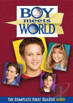 Boy Meets World - The Complete First Season DVD Cover Art
