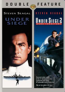Under Siege/Under Siege 2: Dark Territory DVD Cover Art