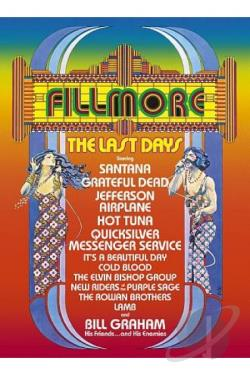Fillmore: The Last Days DVD Cover Art