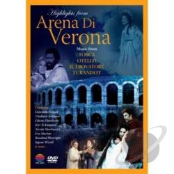 Highlights From Arena Di Verona DVD Cover Art