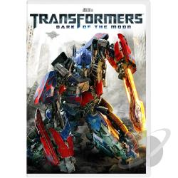 Transformers: Dark of the Moon DVD Cover Art