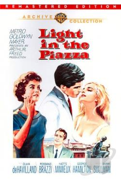 Light in the Piazza DVD Cover Art