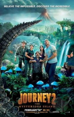 Journey 2: The Mysterious Island DVD Cover Art
