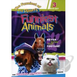 Funniest of the Planet's Funniest Animals DVD Cover Art