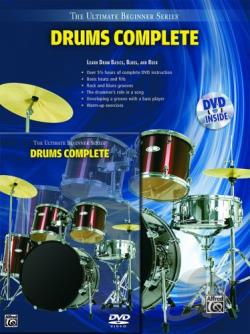 Ultimate Beginner Series Drums Complete DVD Cover Art