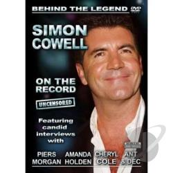 Simon Cowell: On the Record DVD Cover Art