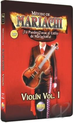 Metodo de Mariachi: Violin, Vol. 1 DVD Cover Art
