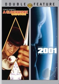 2001: A Space Odyssey/ Clockwork Orange DVD 2-Pack DVD Cover Art