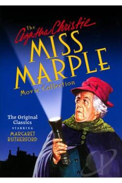 Agatha Christie's Miss Marple Movie Collection DVD Cover Art