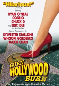 Burn Hollywood Burn DVD Cover Art