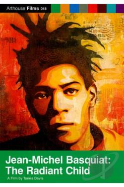 Jean-Michel Basquiat: The Radiant Child DVD Cover Art