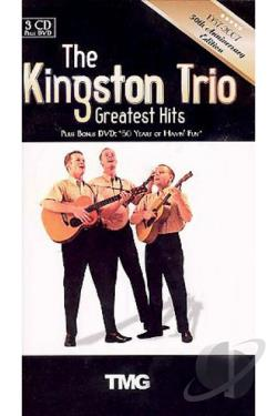 Kingston Trio: 50 Years DVD Cover Art