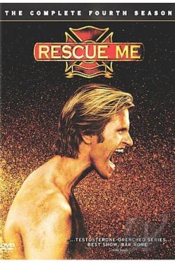 Rescue Me - The Complete Fourth Season DVD Cover Art