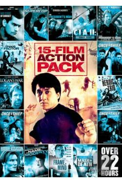 15 - Movie Action Pack, Vol. 1 DVD Cover Art