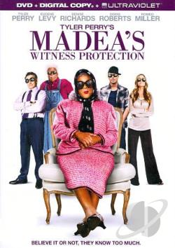 Tyler Perry's Madea's Witness Protection DVD Cover Art