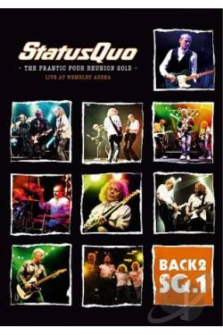 Status Quo: Back2SQ.1 - The Frantic Four Reunion 2013 Live at Hammersmith DVD Cover Art