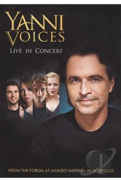 Yanni Voices: Live from The Forum in Acapulco DVD Cover Art