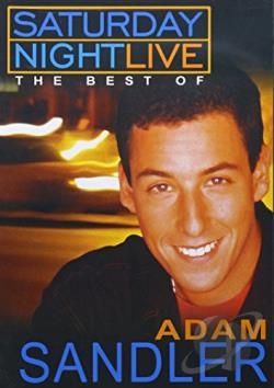 Saturday Night Live - Best Of Adam Sandler DVD Cover Art