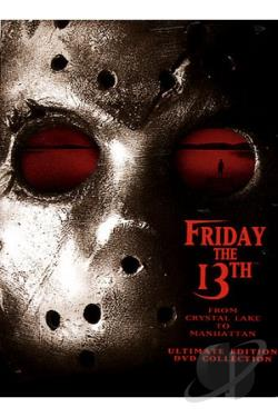 Friday The 13th - From Crystal Lake To Manhattan DVD Cover Art