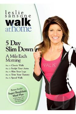 Leslie Sansone - Walk at Home - 5 Day Slim Down DVD Cover Art