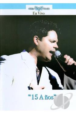 Rey Ruiz: En Vivo - 15 Anos DVD Cover Art