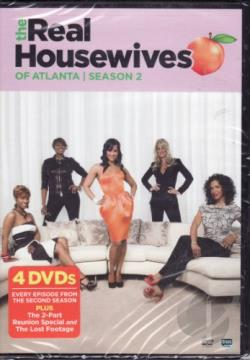 Real Housewives of Atlanta: Season 2 DVD Cover Art