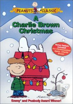 Charlie Brown Christmas DVD Cover Art