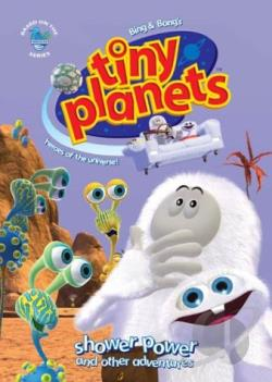 Tiny Planets: Shower Power DVD Cover Art