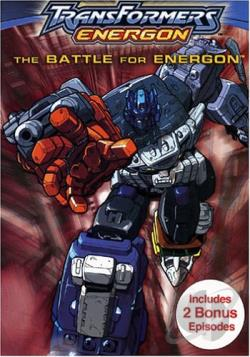 Transformers: Energon - The Battle For Energon DVD Cover Art