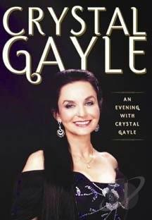Crystal Gayle - An Evening with Crystal Gayle DVD Cover Art